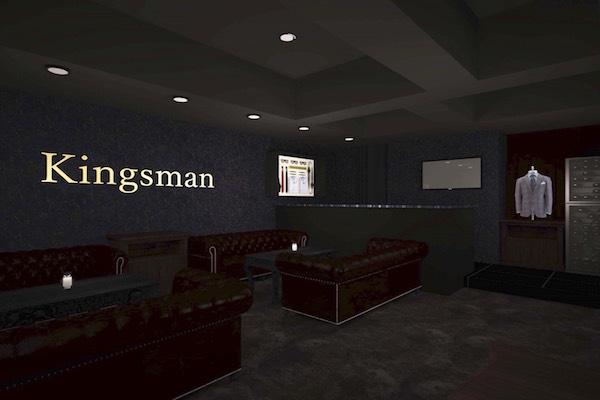 キングスマン店内写真